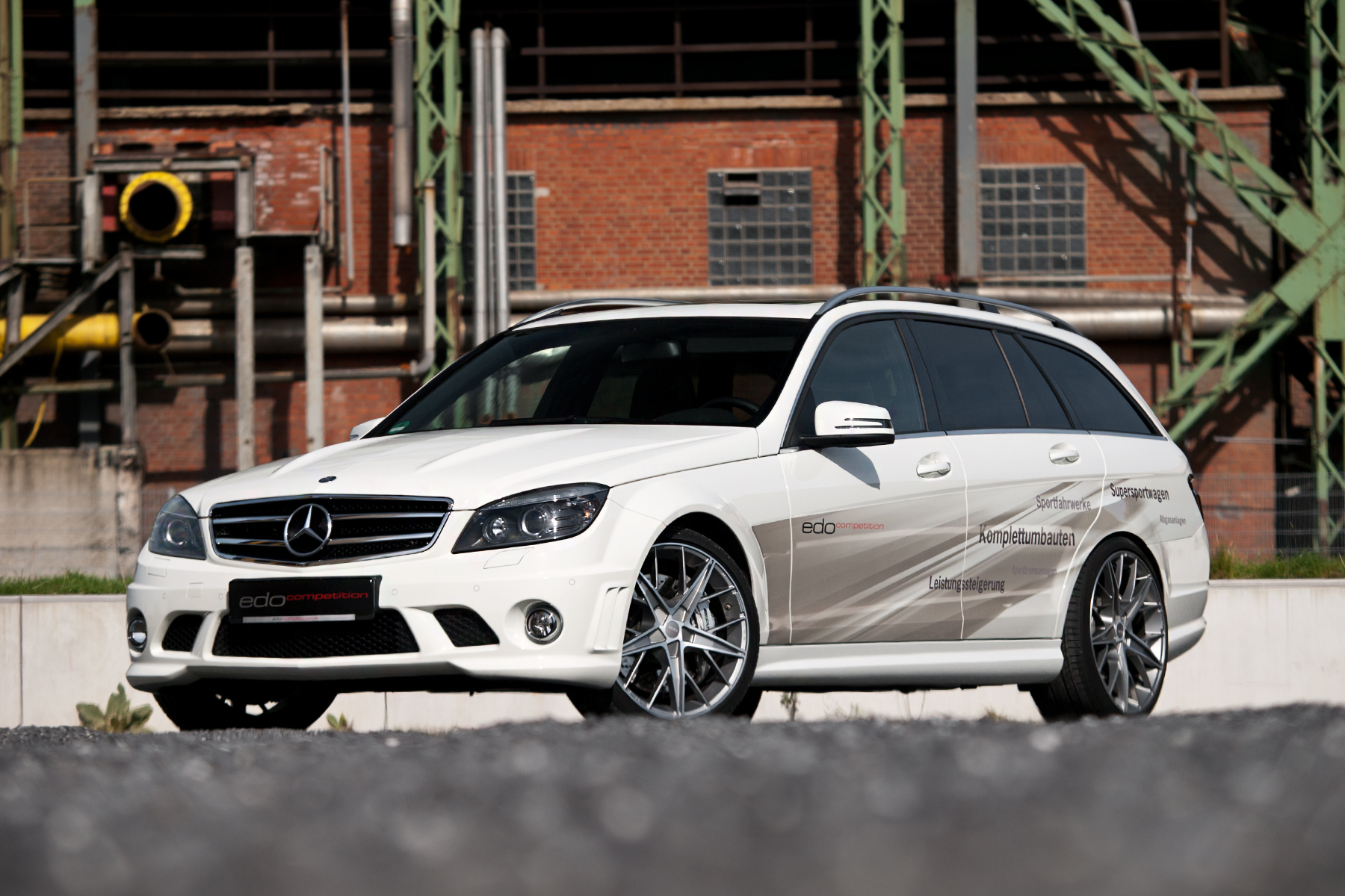 Mercedes C63 Amg T Edo Competition